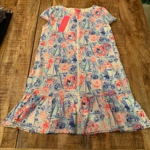 Lily Pulitzer girls cover up XL